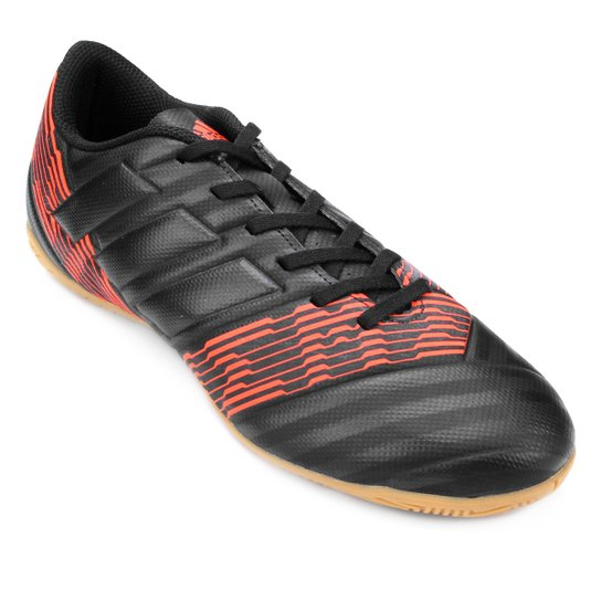 f5357c28e08a Chuteira Futsal Adidas Nemeziz 17.4 IN Masculina - Preto - Compre ...