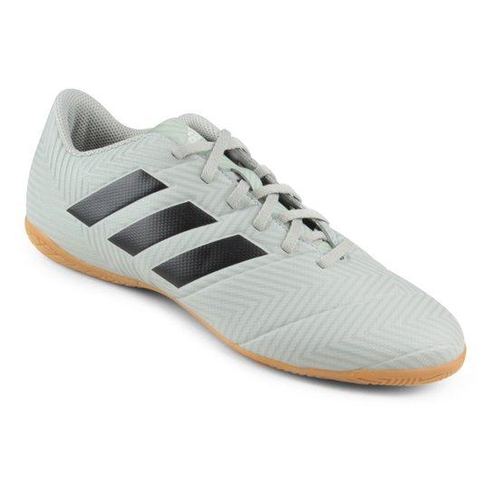 c6d853d91 Chuteira Futsal Adidas Nemeziz Tango 18 4 IN - Cinza e Preto ...