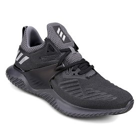 f410820da Tênis Adidas Alphabounce Instinct Masculino - Preto e Cinza - Compre ...