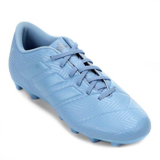 9f193f75c1eb Chuteira Campo Adidas Nemeziz Messi 18 4 FG - Azul - Compre Agora ...