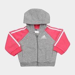 109ff64e920c2 Jaqueta Infantil Adidas Baby I Fav Log Fzh Feminina