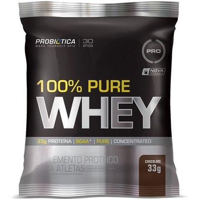 100% Pure Whey 1 cx c/ 15 Unidades - Probiótica