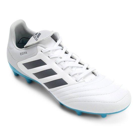 70df90b9d2084 Chuteira Campo Adidas Copa 17.3 FG - Branco - Compre Agora