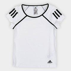 756261d452 Camiseta Infantil Adidas G Club Proteção UV Feminina