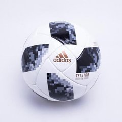 Bola Futebol Campo Adidas Telstar 18 Copa do Mundo Replique FIFA bd1f0406061cd