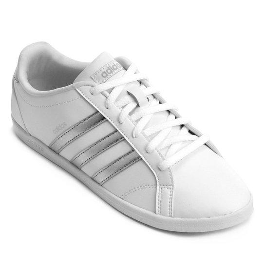c64bd5b3e78 Tênis Adidas Vs Coneo Qt Feminino - Branco - Compre Agora