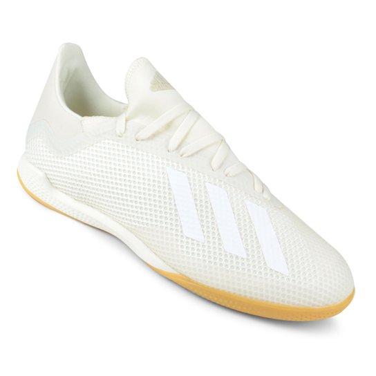 1a0ea17e3b1a3 Chuteira Futsal Adidas X Tango 18 3 IN - Branco | São Paulo Mania