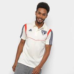 97eb8c0485 Camisa Polo São Paulo Viagem Adidas Masculina
