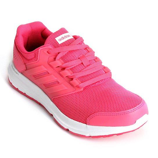 23500012f9ac9 Tênis Adidas Galaxy 4 Feminino - Rosa - Compre Agora