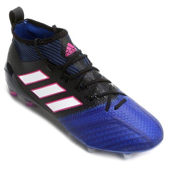 288bb89479 ... Chuteira Campo Adidas Ace 17.1 Primeknit FG Masculina - Preto e Azul  ... c25f75c56fad77  Chuteira Campo Infantil Nike Mercurial ...