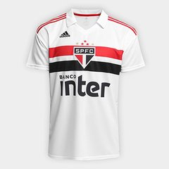 Camisa São Paulo I 2018 s n° Torcedor Adidas Masculina e10cdc556d7bf