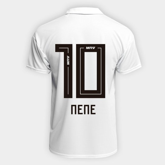 d438589742e2f Camisa São Paulo I 2018 n° 10 Nene Torcedor Adidas Masculina -  Branco+Vermelho