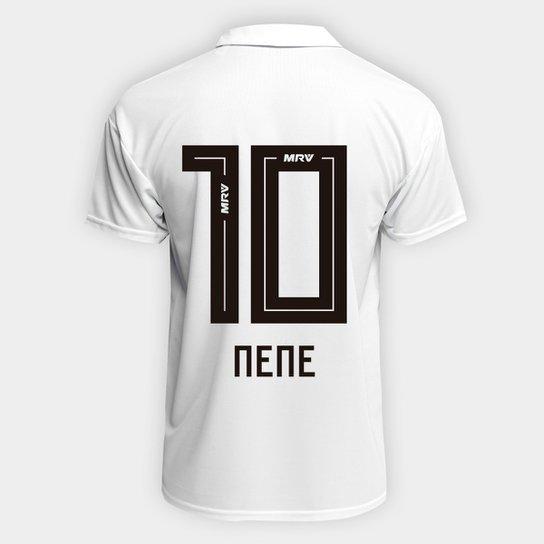 Camisa São Paulo I 2018 n° 10 Nene Torcedor Adidas Masculina -  Branco+Vermelho 8054075fbb68c