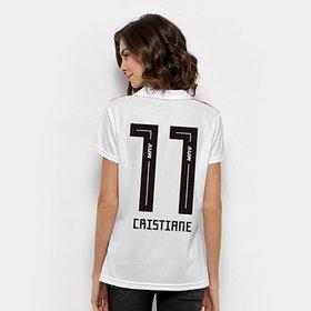 c68e7e52bc293 Camisa São Paulo I 2018 Cristiane Nº 11 Torcedor Adidas Feminina ...