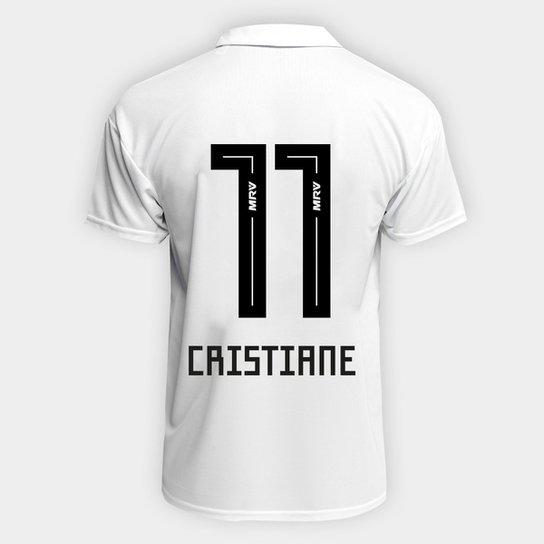 Camisa São Paulo I 2018 n° 11 Cristiane - Torcedor Adidas - Masculina -  Branco aa6e6aa2a9af8