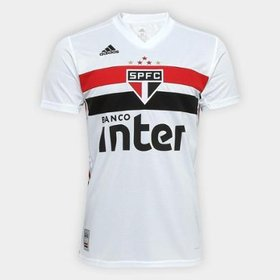 c55458aa7 Camisa São Paulo I 19 20 s n° Torcedor Adidas Masculina