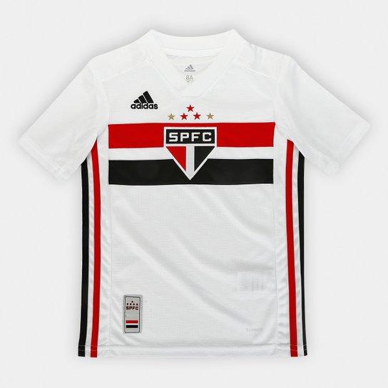 eb3e528f9 Camisa São Paulo Infantil I 19 20 s n° Torcedor Adidas - Branco e ...