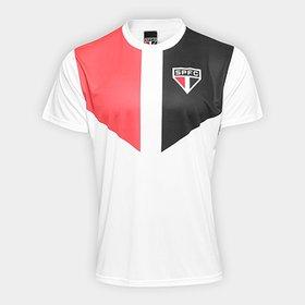 84dd6bde07d Camisa São Paulo I 2018 s n° Torcedor Adidas Feminina - Branco e ...