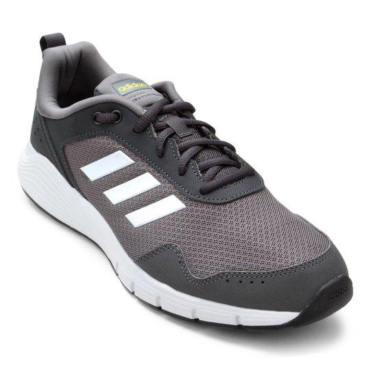 8344b0703 Tênis Adidas Fluidcloud Neutral Masculino - Cinza e Branco - Compre ...