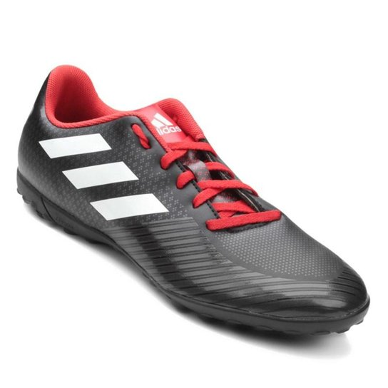 Chuteira Society Adidas Artilheira III TF - Preto e Branco - Compre ... ca7dd72db6248