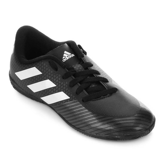 baef5da3b57b7 Chuteira Futsal Juvenil Adidas Artilheira III IN - Preto e Branco ...