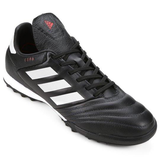 new york 2e0f4 b7732 Chuteira Society Adidas Copa 17.3 TF - Preto+Branco