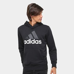 2d4f200dec Moletom Adidas Ess Lin Po Ft Masculino · 5(2) · Confira · Moletom Adidas  Essentials Linear Pullover French Terry C  Capuz