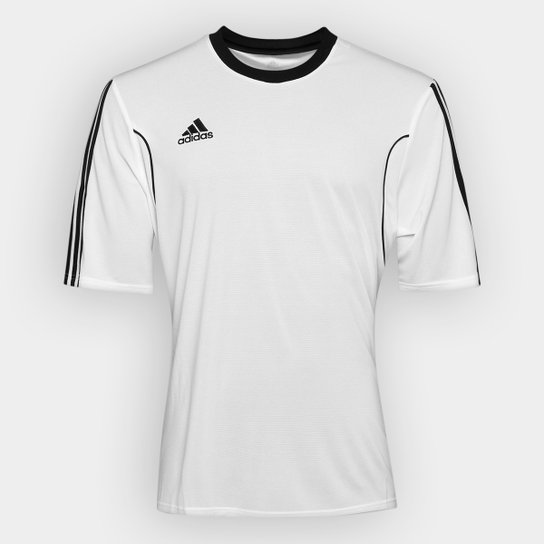 ac31c3ad9eb69 Camisa Adidas Squadra 13 Masculina - Branco e Preto - Compre Agora ...