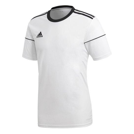 633eba0691 Camisa Adidas Squadra 17 Masculina - Branco e Preto - Compre Agora ...