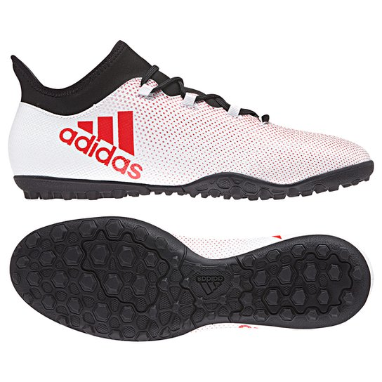 cc01bb8857 Chuteira Society Adidas X 17.3 TF - Cinza e Preto - Compre Agora ...