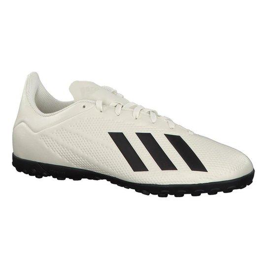 606ab8e723 Chuteira Society Adidas X Tango 18 4 TF - Branco e Preto - Compre ...