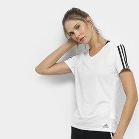 9ba0e74a9a2be Camiseta Adidas Run Masculina - Azul e Marinho - Compre Agora