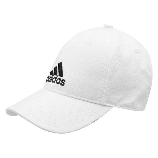 Boné Adidas Aba Curva Essential Cotton Masculino - Compre Agora ... da3d8ed5e10