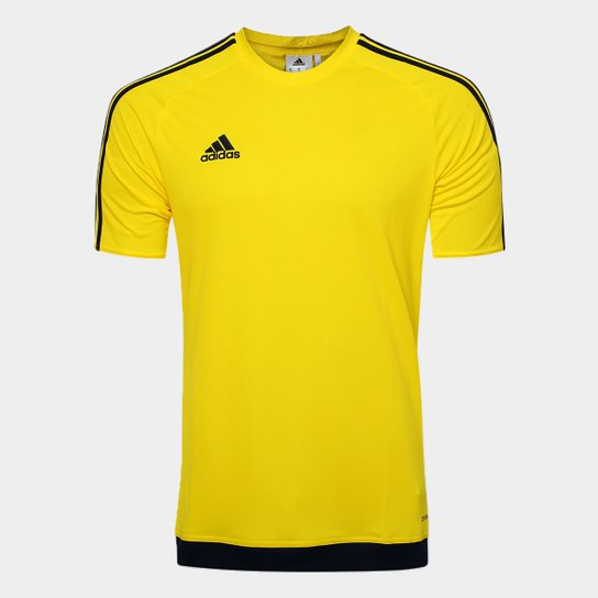c15790e6580 Camisa Adidas Estro 15 Masculina - Amarelo - Compre Agora