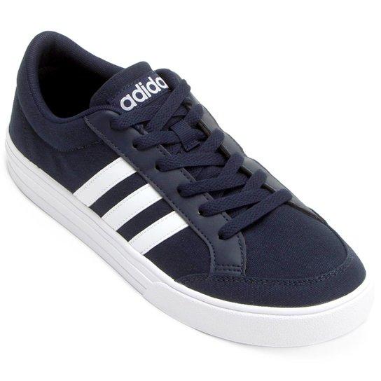 647048c4911 Tênis Adidas Vs Set Masculino - Marinho+Branco