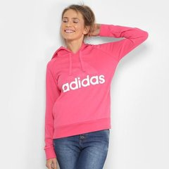 b2263c545 Jaqueta Adidas Ess Lin Oh Estampada Feminina