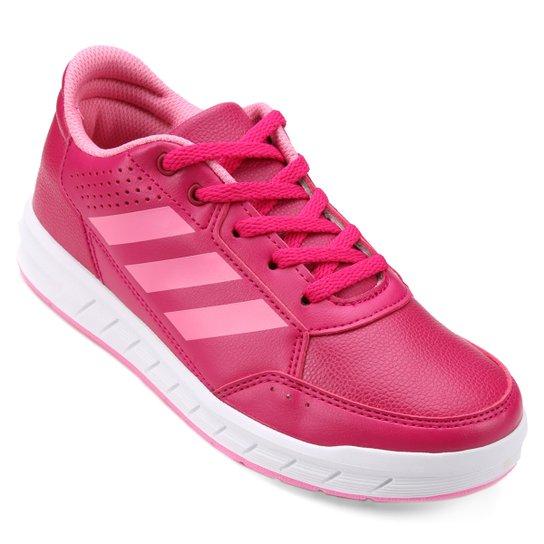 2addb897d11 Tênis Infantil Adidas Altasport K - Pink e Branco - Compre Agora ...