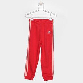bf1d63c44c1eb Conjunto de Moletom Infantil Adidas Baby - Cinza e Pink - Compre ...