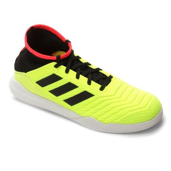 256f895a10 Chuteira Futsal Adidas Predator Tango 18 3 TR - Verde Limão+Preto. Loading.