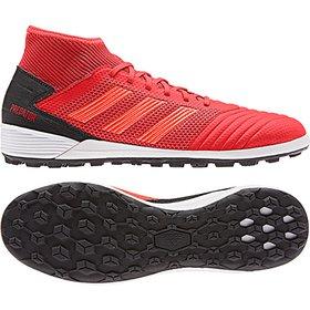 2c5a627d62 Chuteira Society Adidas Nemeziz 18 3 TF - Branco e Vermelho - Compre ...
