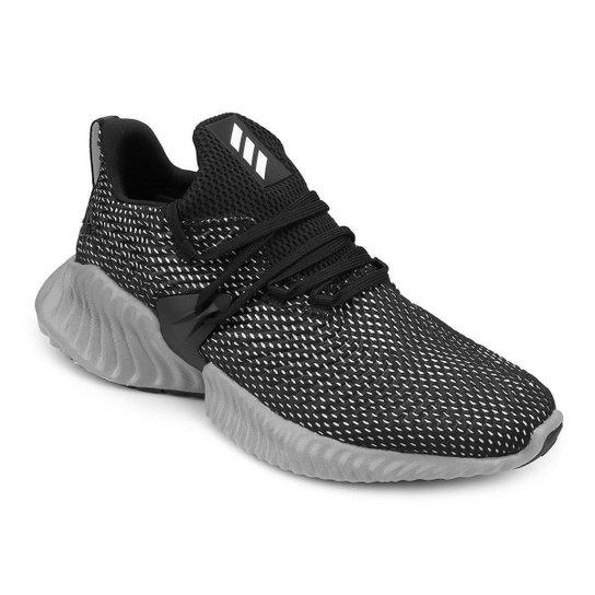 bb0d23fa546 Tênis Adidas Alphabounce Instinct Masculino - Preto e Cinza - Compre ...