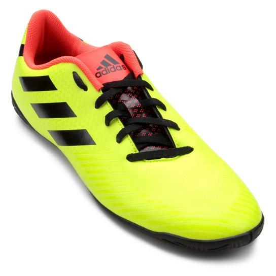 Chuteira Futsal Adidas Artilheira III IN - Amarelo e Preto - Compre ... fa5477cf0ddcc