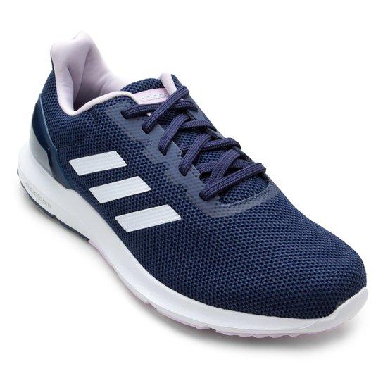 39518271f Tênis Adidas Cosmic 2 Feminino - Azul e Rosa - Compre Agora