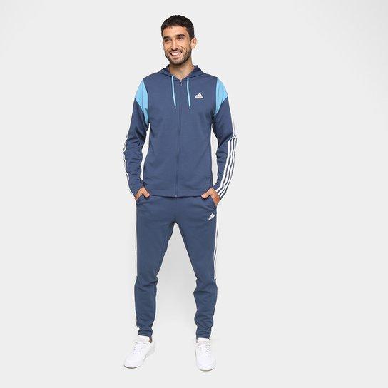 Agasalho Adidas Aeroready Feminino - Azul