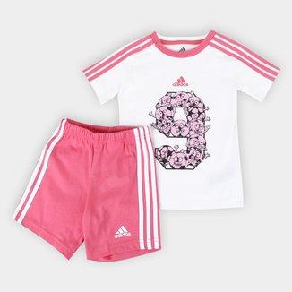 Agasalho Infantil Adidas I Lil 3S Sport Performance