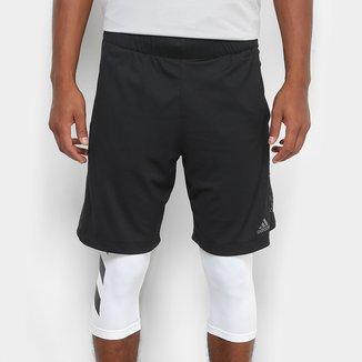 Bermuda Adidas 2 em 1 Electric Masculina