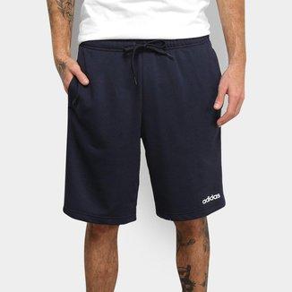 Bermuda Adidas Essentials 3 Stripes French Terry Masculina