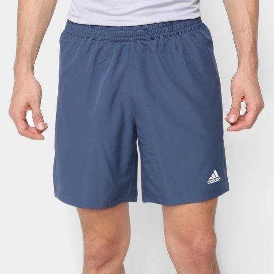 Bermuda Adidas Run It Masculina - Azul