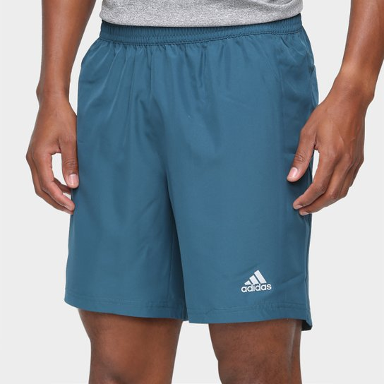 Bermuda Adidas Run It Masculina - Azul Petróleo