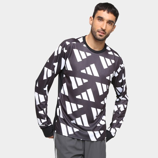 Blusa Adidas Otr Sweat Celebration Masculina - Preto+Branco